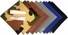 Dark-Colors Camo Professional Vinyl Repair Patch Kit - Bounce House, Inflatable