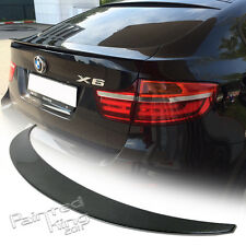 Stock in AU Carbon For BMW X6-Series E71 P Type P Look Rear Trunk Boot Spoiler