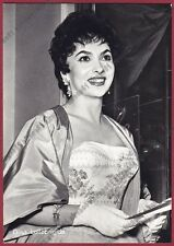 GINA LOLLOBRIGIDA 43 ATTRICE ACTRESS CINEMA MOVIE STAR PEOPLE Cartolina FOTOGRAF