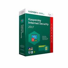 Kaspersky Internet Security 2017 1 PC / 1 Jahr !NEU! !Deutsch! !mit Rechnung!