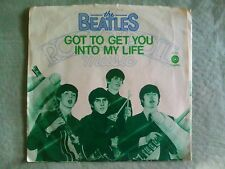 45<<THE BEATLES<<GOT TO GET YOU INTO MY LIFE---SLEEVE ONLY  *CAPITAL 4274*