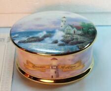 Thomas Kinkade Beacon of Hope Music Box- 2nd issue of Guiding Lights Series-1998