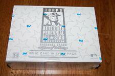 2003 Topps Tribute Perennial All Star Baseball Hobby Box