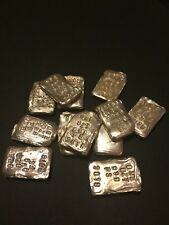 1 ozt Vintage Hand Poured 999 Silver Bullion Bar by DS ( Kentucky Fine )