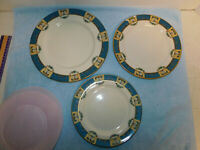"3 Lenox Tremont Dinnerware Plates 10.5"",  9"", 8 1/4"" Excellent Cond."