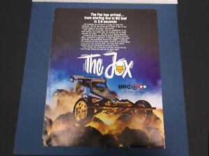VINTAGE 1986 MRC-TAMIYA THE FOX R/C BUGGY REPORT  *G-COND*