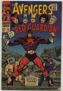 Avengers 43 First Red Guardian