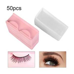 50Pcs/set Eyelashes Case Lashes Storage Box Empty Reusable Packaging Box
