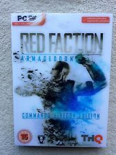 Red Faction Armageddon Commando & Recon Edition PC; BRAND NEW, FACTORY SEALED