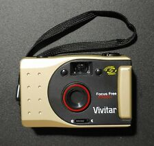 Vivitar Pn2011 35mm Film Camera Panoramic Focus Free Vintage Point Shoot Tech#3