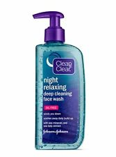 Clean - Clear Night Relaxing Deep Cleaning Face Wash Oil Free, 8 oz