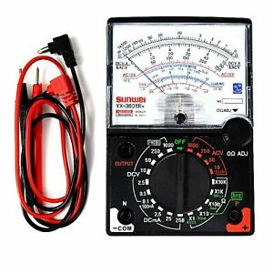 Tester Analogico Multimetro grande display YX-360TR classico a lancetta old styl