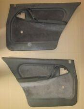 Original Satz Türverkleidung grau hinten links und rechts Opel Omega A