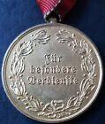 ✚7805✚ Upper Austrian Warrior League ÖKB service medal in Gold post WW2