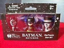 Batman Returns Mezco Mez-itz 3 Pack Batman Catwoman Penguin