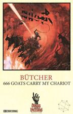 Bütcher 666 Goats Carry Chariot Kassette + METAL PIN Evil Invaders Exciter Speed