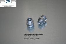 Hydraulik Gerade Reduzierung 15L auf 12L Typ GR Schneidringverschraubung