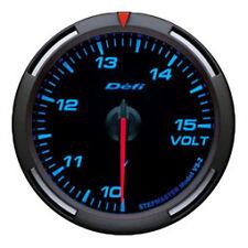 Defi Racer Gauge 60mm Voltage Meter DF11901 Blue