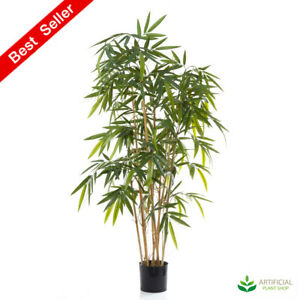Artificial Fake Plants Bamboo Tree  1.6m (Natural Trunks)