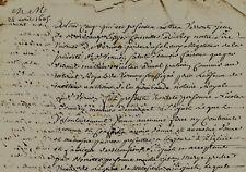 1605-1799 Saint-Just généalogie donation & fondation anniersaire BONNERY meunier