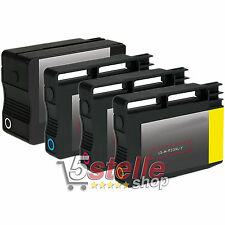 KIT 4 CARTUCCE HP 932 XL 933 XL PER OFFICEJET 7510A 7610 7612 REMAN
