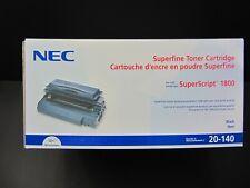 New Genuine OEM NEC SuperScript 1800 Superfine Toner Cartridge  #20-140
