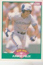 FREE SHIPPING-MINT-1989 Score  #83T Junior Felix Toronto Blue Jays ROOKIE