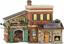 Dept 56 Snow Village Grapevine Winery 600635 Department 56 Barrel Room Bnib