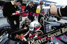 Elio De Angelis JPS Lotus 95T British Grand Prix 1984 Photograph 5