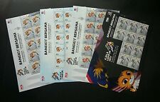 Malaysia 29th SEA Games 9th Para Asean 2017 Sport Games Tiger Kites sheetlet MNH