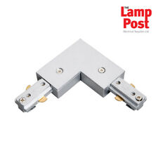 Robus RL-15 - L Shape Connector Joint For Robus Track Lights - Satin Silver