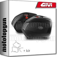 GIVI SUPPORTS LATERALES + V35NT MONOKEY HONDA XL 1000 V VARADERO ABS 2012 12