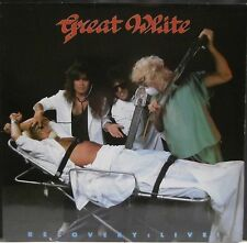 GREAT WHITE - 'RECOVERY LIVE!' LP - UK - METAL