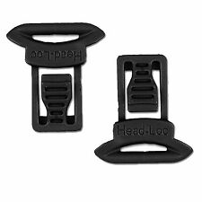 Airsoft FMA Tactical Helmet Rail Side Clips - Goggle Swivel - Fits most Rails