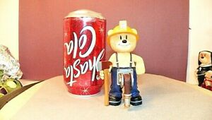 Bad Taste Bears Fireman Hoseman Firefighter Bear Figure-Super Nice!