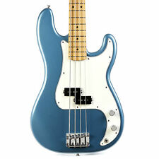 Fender Player Series Precision Bass Maple - Tidepool Blue Demo