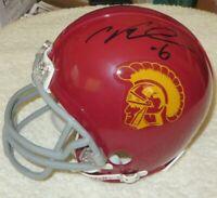 Cody Kessler Max Tuerk signed autographed autograph auto USC Trojans mini helmet