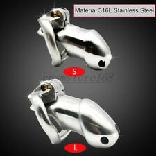 316L Stainless steel Male Chastity Belt Cock cage Penis Lock chastity device