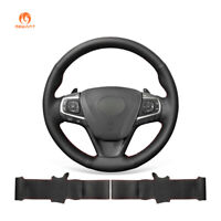 Hand Stitched PU Leather Steering Wheel Cover for Toyota Camry 2015-2017 Avalon