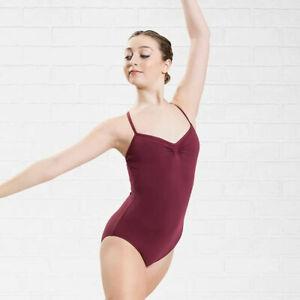 Neu Plume Ballett Trikot Leotard Turnanzug Gymnastikanzug Tanz Pilates Yoga Gr L