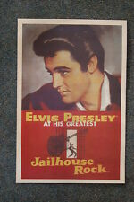 "Elvis Poster Lobby Card 1956 ""Jail House Rock """