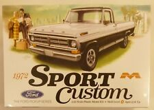 Moebius 1/25 1972 Ford Custom Pickup Truck Model Kit
