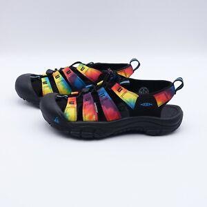 Size 9.5 Men's KEEN Newport Retro Fisherman Sandals 1018804 Tie Dye