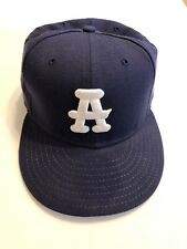 Atlanta Black Crackers 7 1/8 Fitted Hat New Negro League Hat Cooperstown