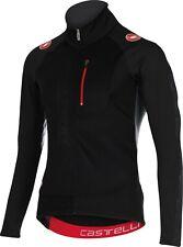 Castelli Trasparente Long Sleeve Cycling Jacket Black Size XL