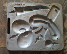 1967 Thingmaker Mold by Mattel, Mini Dragons, No. 4502-053, Metal