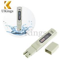Digital TDS 3 Water Quality Tester Purity Meter TEMP PPM Test Filter Pen Stick K