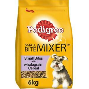 6kg Pedigree Mixer Small Dog Dry Food Original Small Bite with Wholegrain Cereal