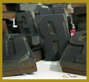 Caratteri tipografici in legno letterpress printing mobili antichi mestieri