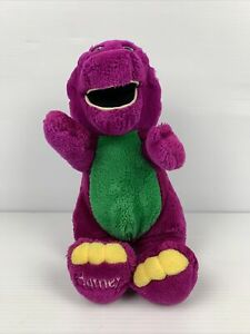 Barney And Friends Purple Dinosaur Plush Official 1993 Lyons Group  Stuffed Toy